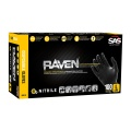 SAS 66518 Raven Nitrile Disposable Glove (Powder-Free) 100 Per Box, 10 Boxes Per Case
