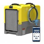 AlorAir 85PPD Large Dehumidifier, WI-FI App Controls