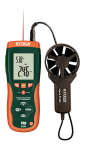 Extech HD300-NISTL Thermo-Anemometer - W/Limited NIST
